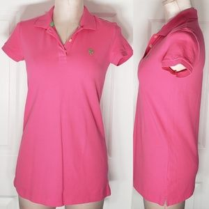 Lilly Pulitzer Island Polo Shirt Sz Small